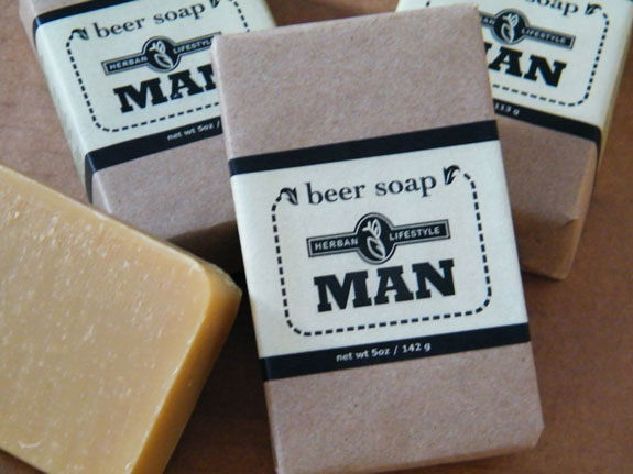 Man Beer Soap