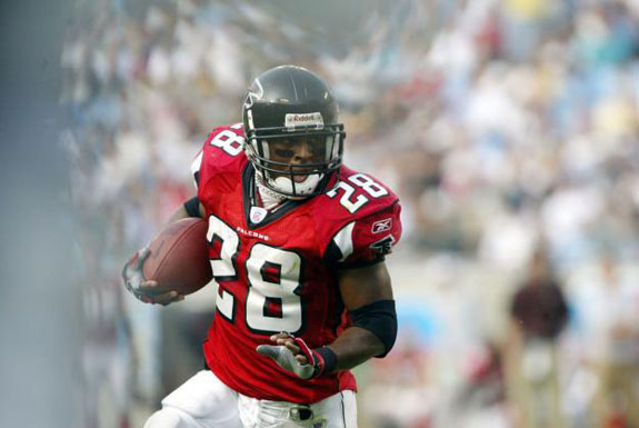 Warrick Dunn Atlanta Falcons