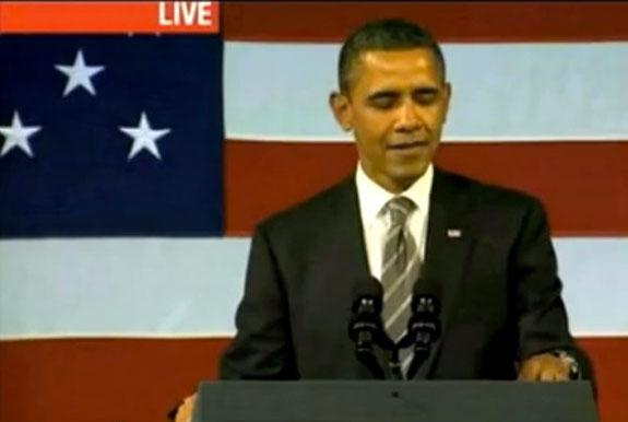 Barack Obama Sings Al Green