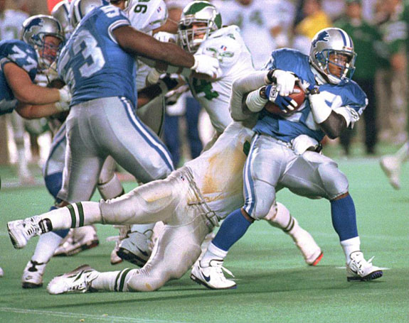 Barry Sanders Greatest Running Back