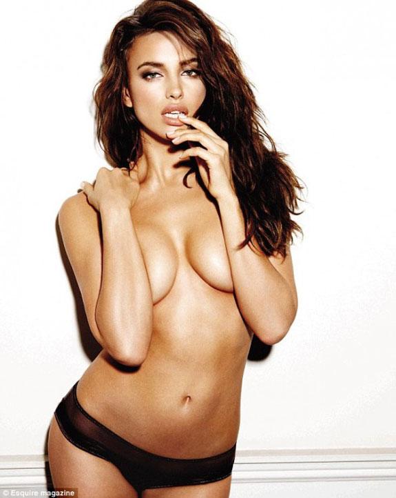 Irina Shayk Esquire Magazine Pictures
