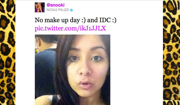 Jersey Shore Snooki Without Makeup