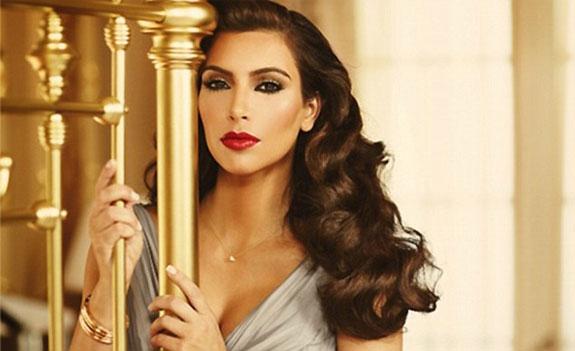 Kim Kardashian True Reflection Fragrance Ad Campaign