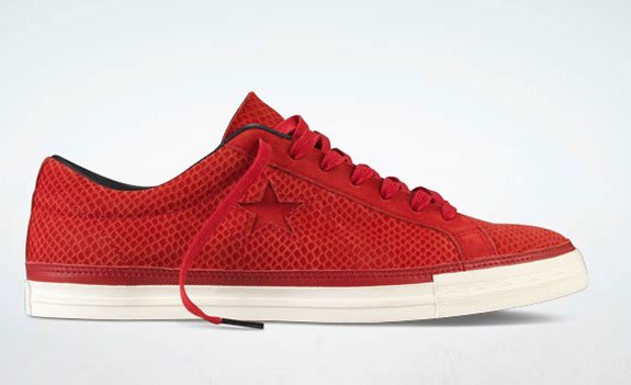One Star Converse Chinese New Year