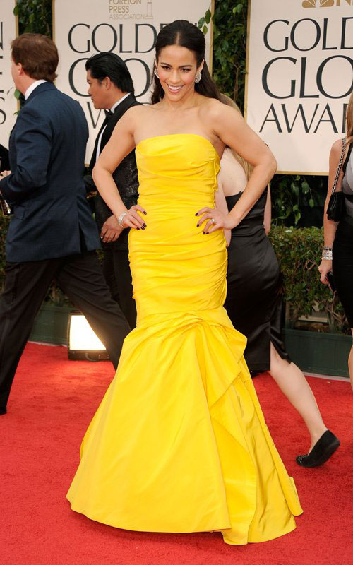 Paula Patton Golden Globes 2012