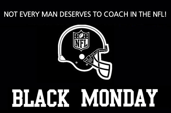 NFL Football Black Monday Coaches Fired