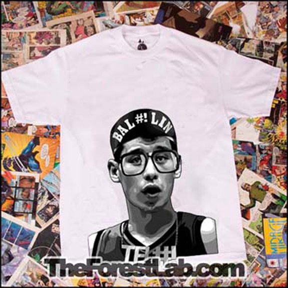 Bal#!Lin Jeremy Lin T Shirt Spike Lee