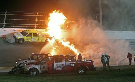 Daytona 500 NASCAR Crash Jet Dryer