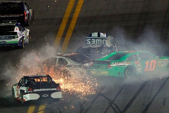 Daytona 500 NASCAR Crash