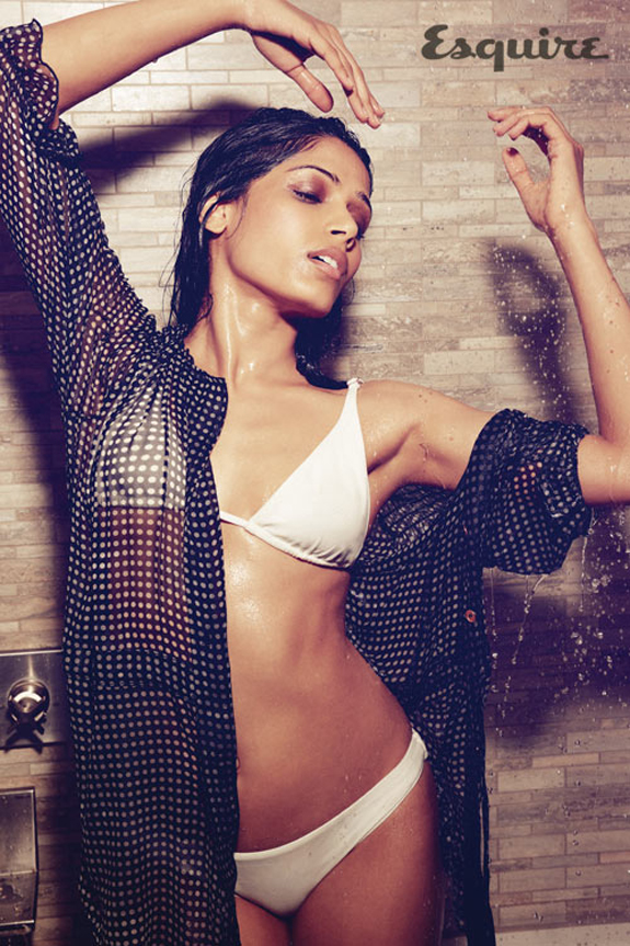 Freida Pinto For Esquire UK