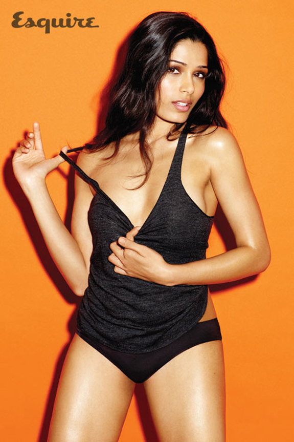 Freida Pinto Sexy Esquire UK