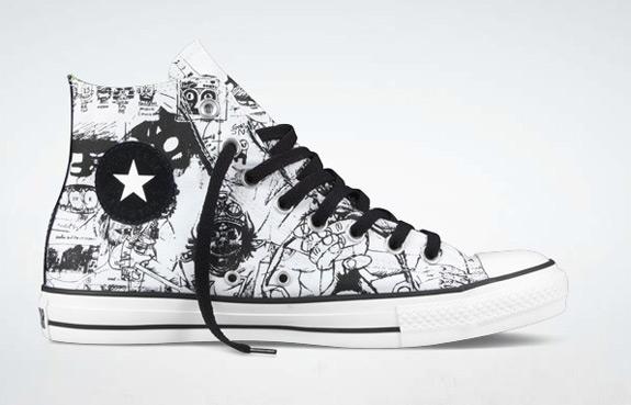 Gorillaz Converse Sneakers
