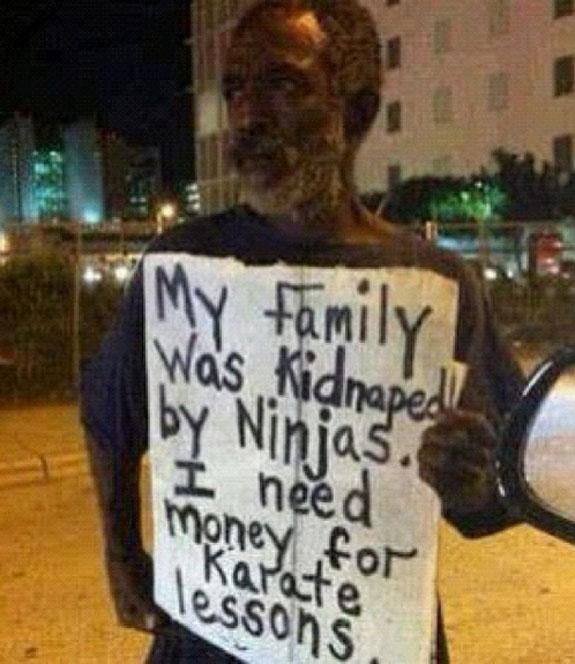Help Kidnapped Ninja Need Money