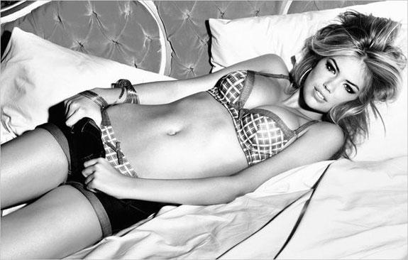 Kate Upton Bikini Model Guess Lingerie