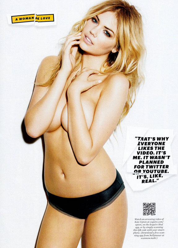 Kate Upton Esquire Magazine Photos