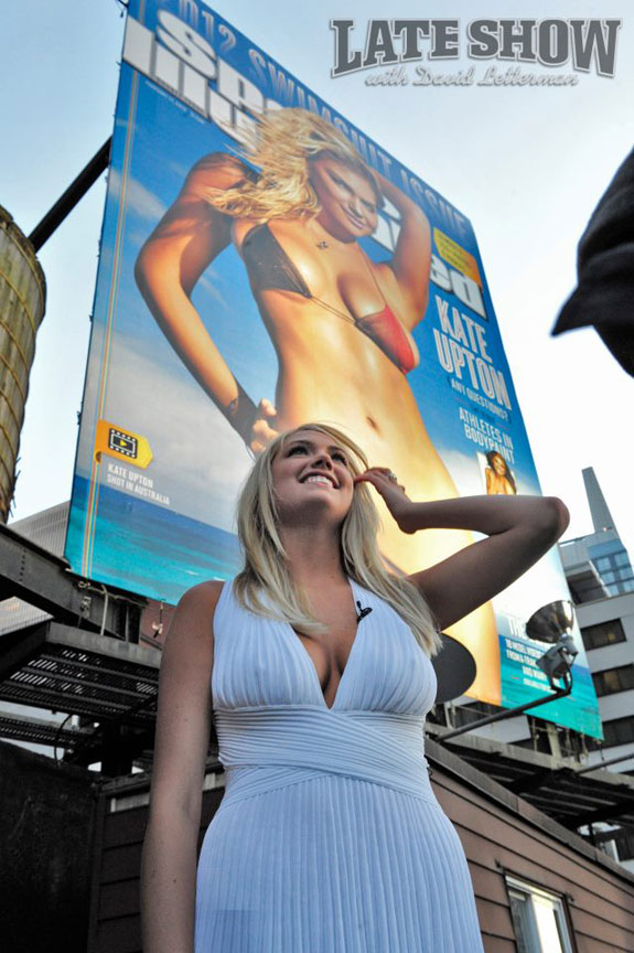 Kate Upton Sports Illustrated Billboard