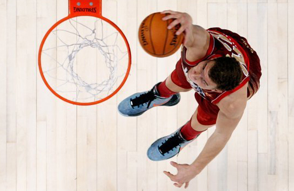 NBA All Star Game Weekend Blake Griffin Dunk