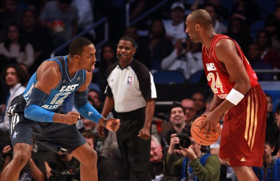 NBA All Star Game Weekend Dwight Howard Kobe Byrant