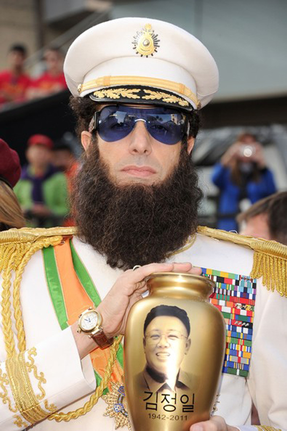 Sacha Baron Cohen Oscars Academy Awards Dictator