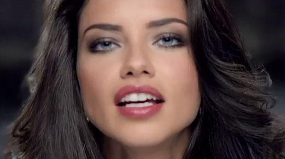 Teleflora Super Bowl Ad Commercial Adriana Lima