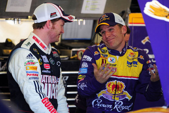 Dale Earnhardt Jr And Jamie Mcmurray