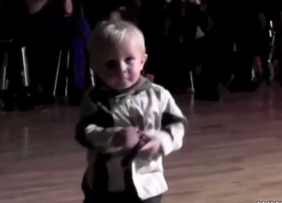 2 Year Old Boy Dancing