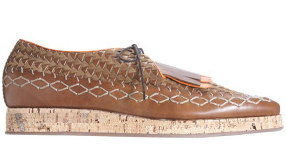 Burberry Woven Loafers