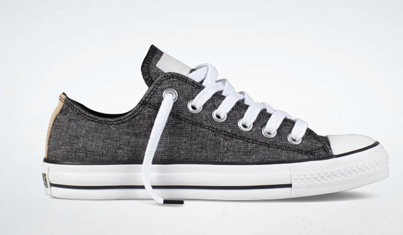 Converse Chuck Taylor Chambray Washed Woven Black