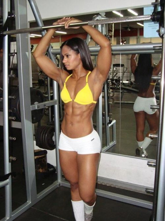 Daily ABspiration Hot Chicks With Hot Abs Butt Gym