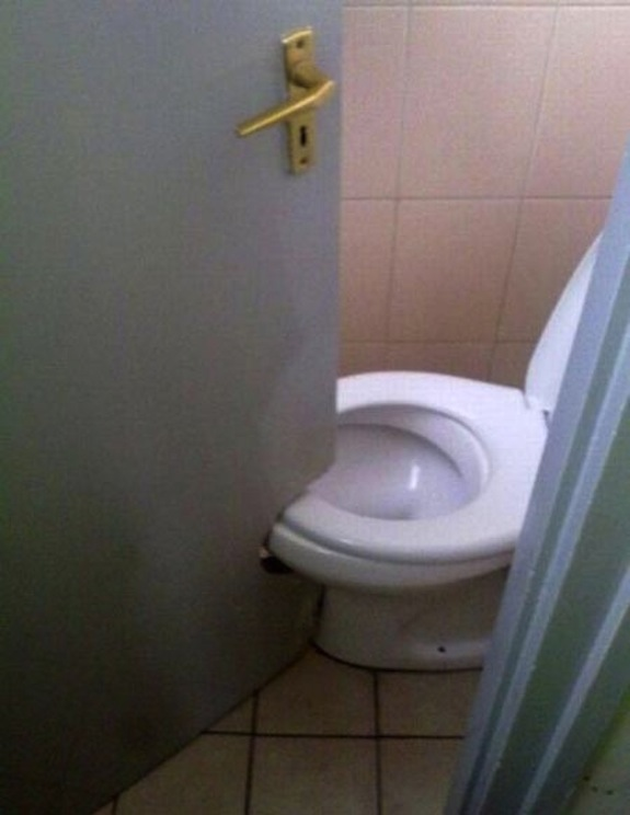 Toilet Tight Squeeze