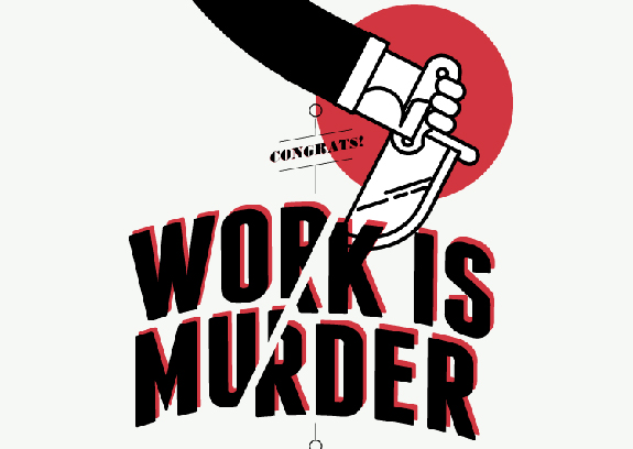 Work Is Murder Infographic