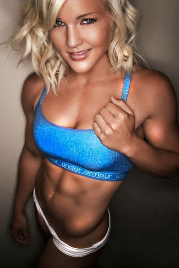 Daily ABspiration Hot Chicks With Hot Abs Blonde