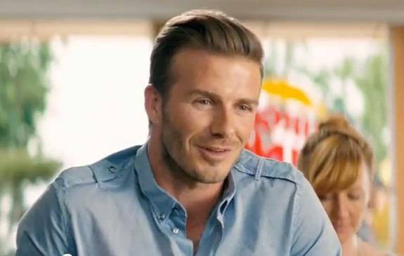 David Beckham Burger King Commercial Ad
