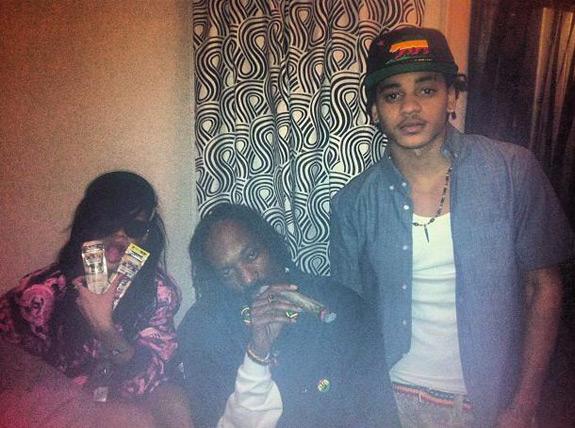 Rihanna Snoop Dogg Coachella 2012