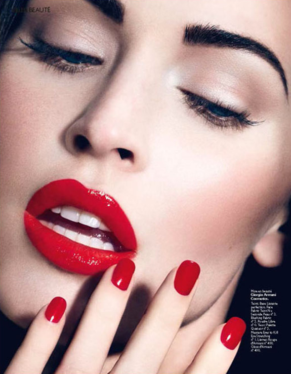 Megan Fox Grazia France Cover