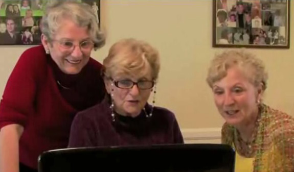 3 Grandmas Watch Kim Kardashian Sex Tape