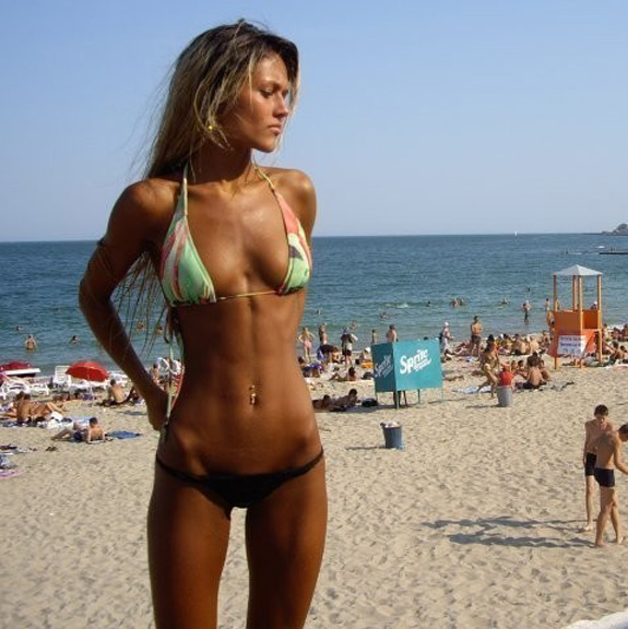 Daily ABspiration Hot Chicks With Hot Abs Brazil Beach