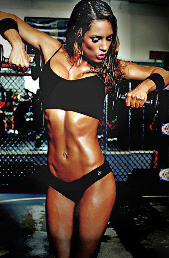 Daily ABspiration Hot Chicks With Hot Abs Muscles In The Gym