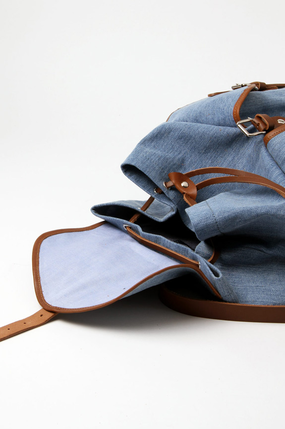 Hixsept June Denim Backpack