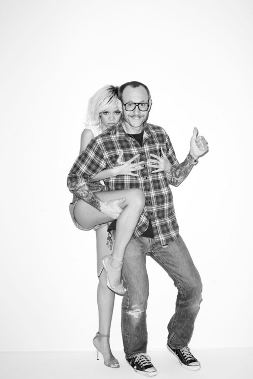 Rihanna Terry Richardson Photo Shoot