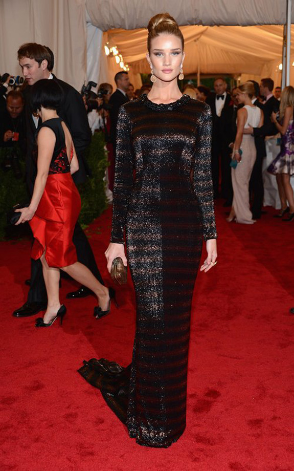 Rosie Huntington Whiteley Met Ball