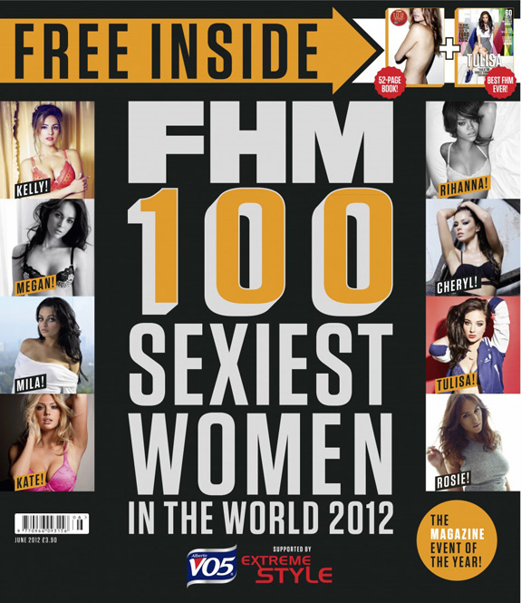Fhm 100 Sexiest Women In The 2012