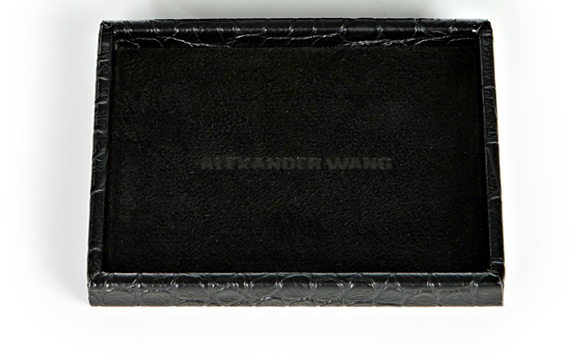 Black Play Cards Alexander Wang