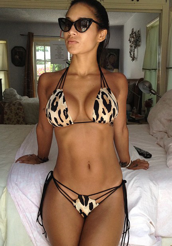 Daily Abspiration Hot Chicks Hot Abs Animal Print