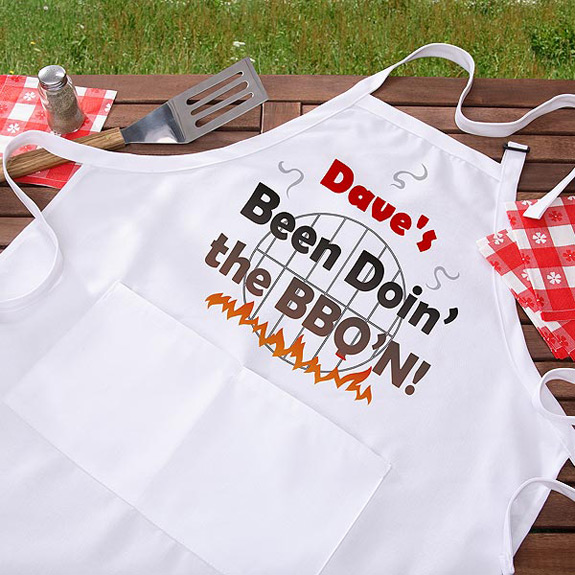 Fathers Day Gift BBQ Apron