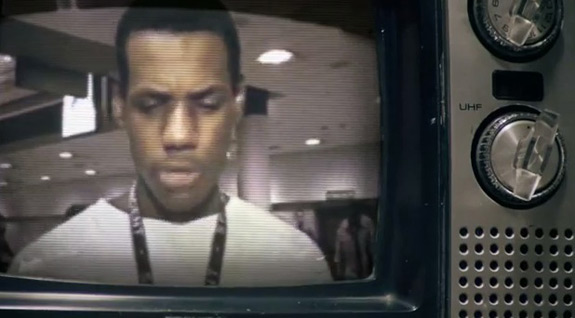 LeBron James Nike Commercial NBA Championship 2
