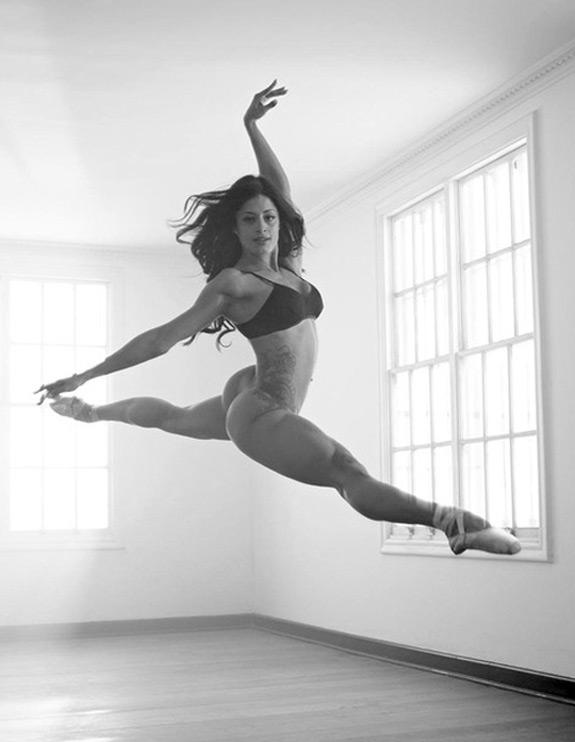 Sexy Photo Ballerina