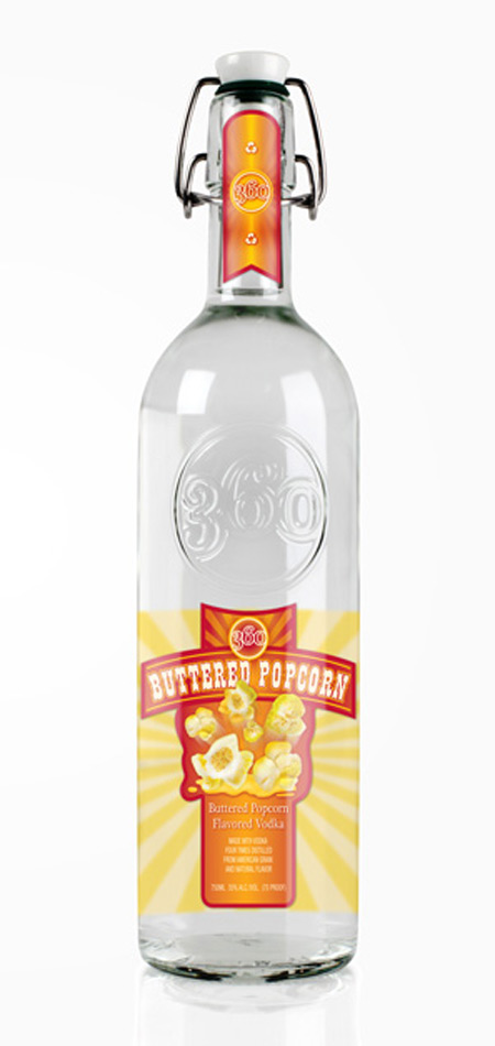 Buttered Popcorn Vodka