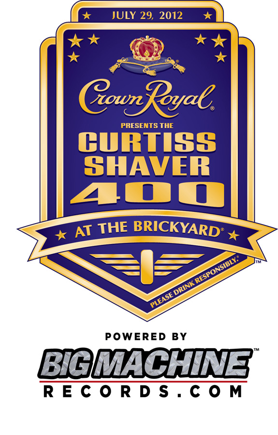 Curtiss Shaver Crown Royal NASCAR Brickyard 400