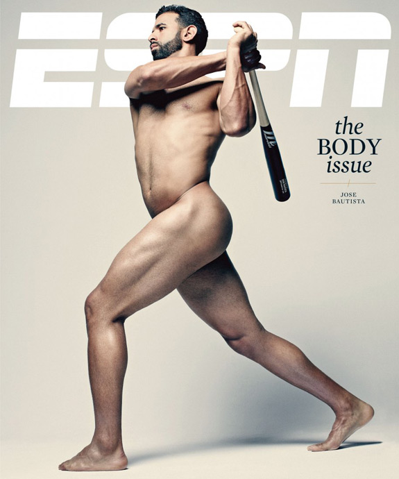 ESPN Body Issue Cover 2012 Jose Bautista Cover